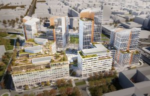 Town-sized Office Complex Has Started on Váci Office Corridor